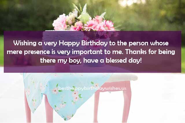 have a blessed day! Wishing a very happy birthday friend.