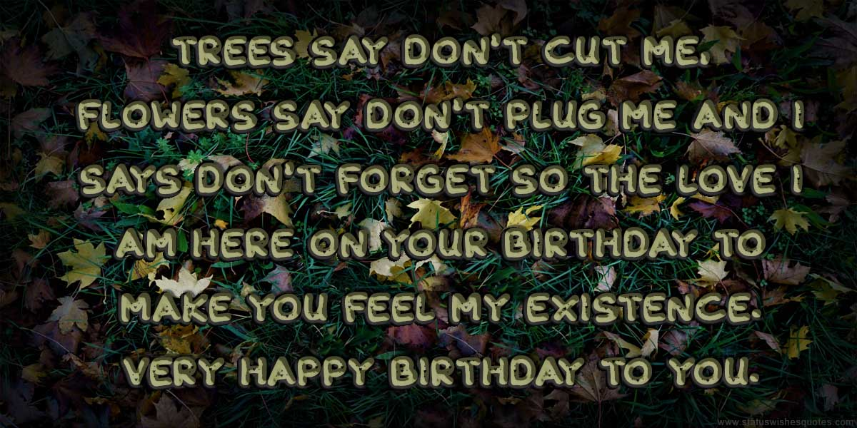 Funny Birthday Wishes for Lover